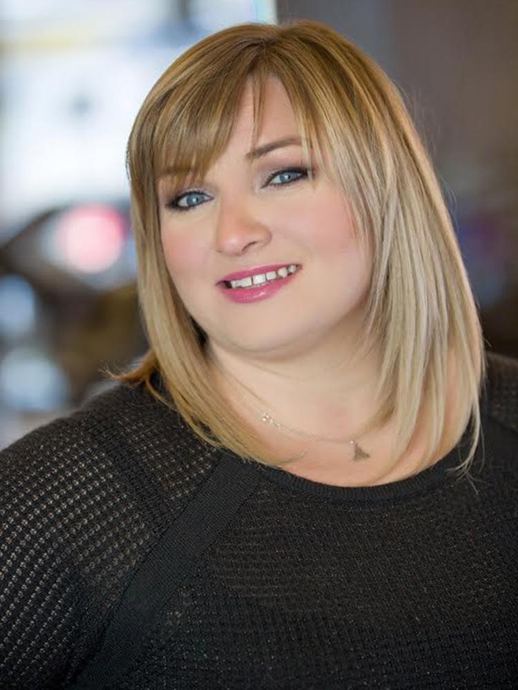 hair stylist at Stoneham MA hair salon