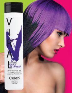 Photo of VIRAL Bold Tones Extreme Purple Colorwash Shampoo Bottlesold atStoneham Hair Salon