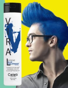 Photo of VIRAL Bold Tones Extreme Blue Colorwash Shampoo Bottlesold atStoneham Hair Salon